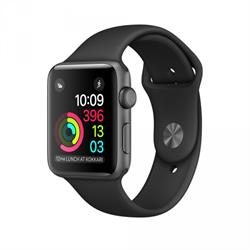 APPLE WATCH (SERIES 1) 42MM SPACE GRAY ALUMINUM CASE WITH BLACK SPORT BAND